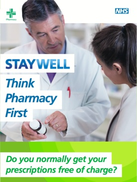 Think Pharmacy First Information Leaflet